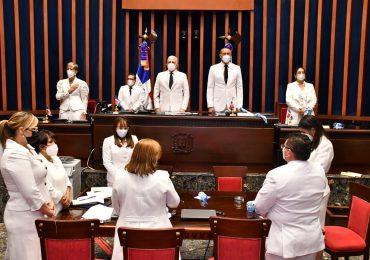 El Senado instala bufete directivo y deja abierta la segunda legislatura ordinaria