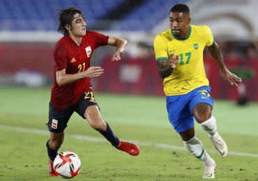Brasil vence a España se cuelga el oro en fútbol