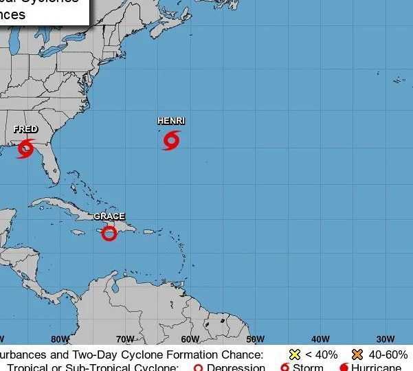 Se forma octavo ciclón tropical Henri