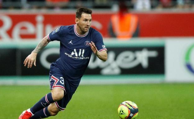 Messi debuta con triunfo con el París SG gracias a Mbappé