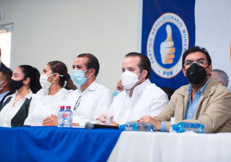 José Ignacio Paliza encabeza acto político con dirigentes de la Región Nordeste