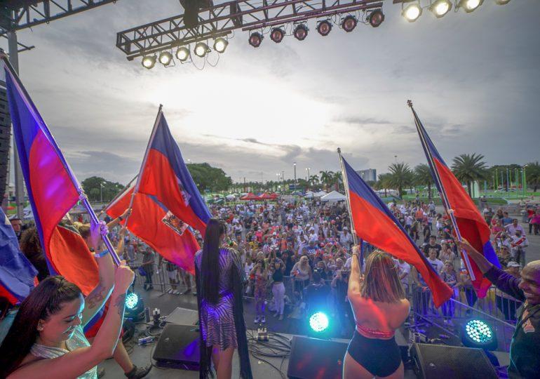 Sarodj rinde homenaje a Haití en el Carnaval de Miami