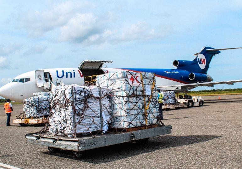 Cruz Roja Dominicana envía ayuda humanitaria a los afectados por el terremoto en Haití