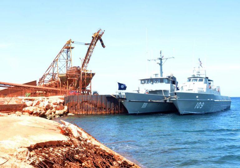 Unidades navales de la Armada retornan desde Haití sin novedad