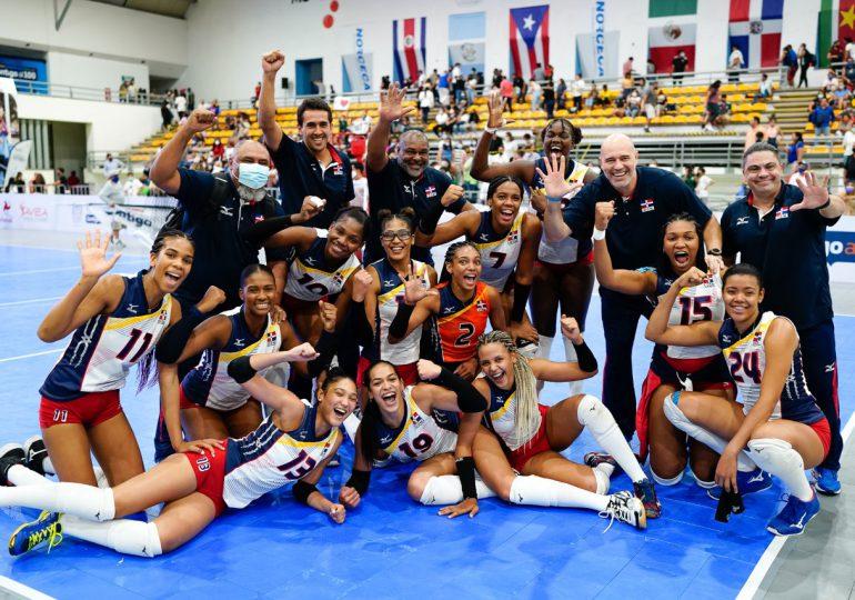 Las Herederas de Voleibol RD gana 5ta corona al hilo en Sub-23