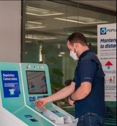 Banco Popular introduce cajeros automáticos que aceptan monedas y más cantidad de billetes