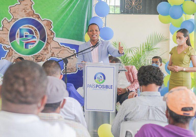 País Posible realiza encuentros y juramenta a cientos de nuevos miembros
