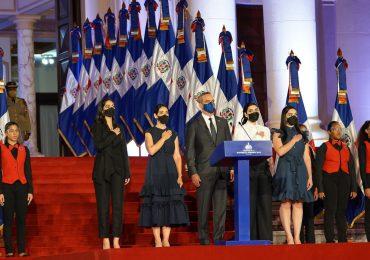 Este es el discurso íntegro de Luis Abinader por el primer año de su Gobierno