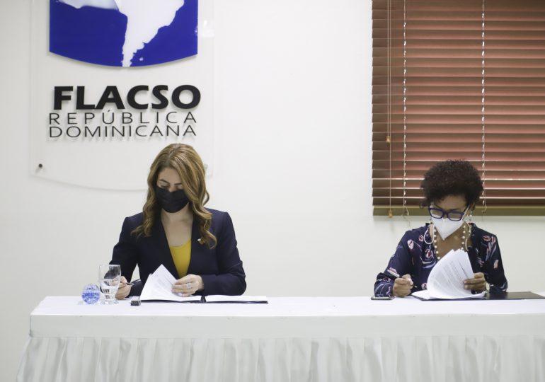 FLACSO RD y el Programa Supérate firman convenio de cooperación interinstitucional