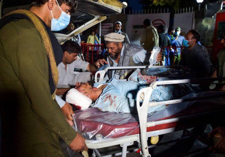 Entre 13 y 20 muertos en el atentado en Kabul, informan los talibanes
