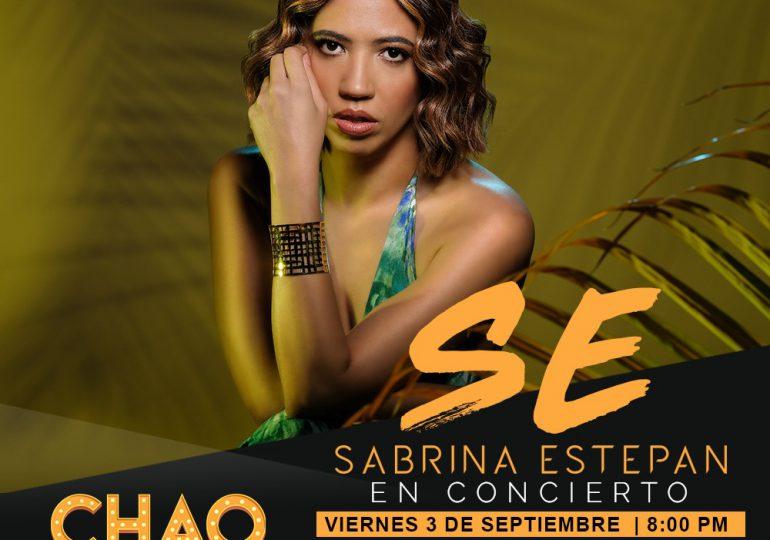 SE, lo mejor de Sabrina Estepan llega en concierto a Chao Café