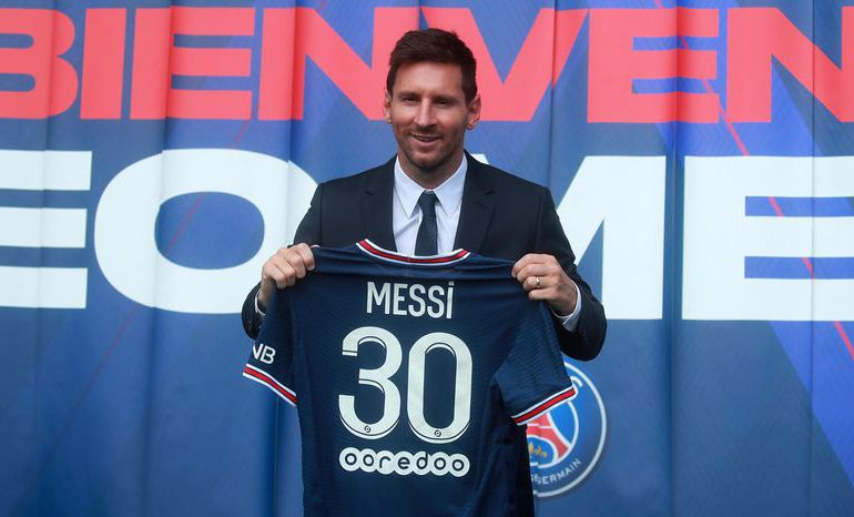 """""""Mi felicidad es enorme"""", dice Messi"""