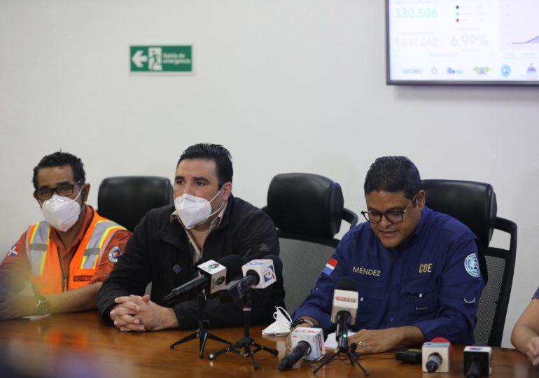 COE eleva a 20 las provincias en alerta roja por tormenta Grace