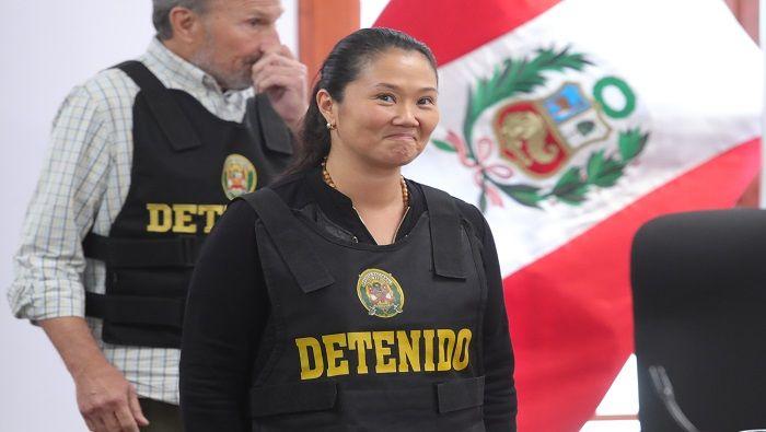 Juez peruano revisa cargos contra Keiko Fujimori, antesala de su juicio