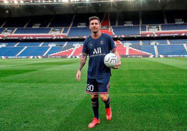 PSG presenta a Lionel Messi y todos sus refuerzos en el Parque de los Príncipes