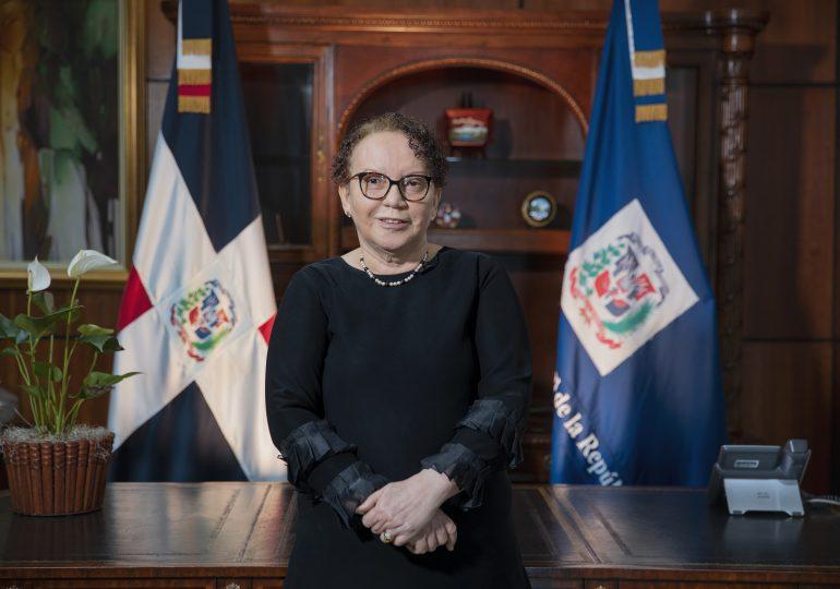 Encuesta revela Miriam Germán es la funcionaria del Gobierno de Abinader que más confianza genera