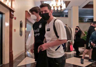 Messi llega a Caracas para enfrentar a Venezuela en vía a Catar-2022