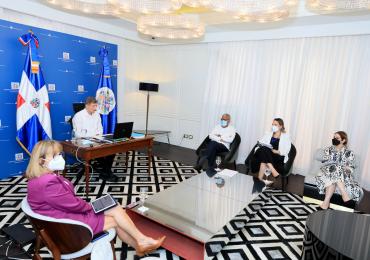 MIREX dialoga con representantes de OEA para promover seguimiento a iniciativas gubernamentales