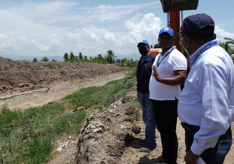 INDRHI inspecciona impactos de Grace en obras hidráulicas en Azua, Barahona y Rancho Arriba
