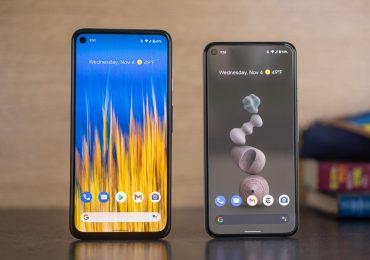 Google ha descontinuado la producción de sus celulares Pixel 5 y Pixel 4a
