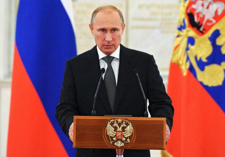 Putin expresa sus condolencias por muerte de cinco militares rusos en accidente aéreo en Turquía
