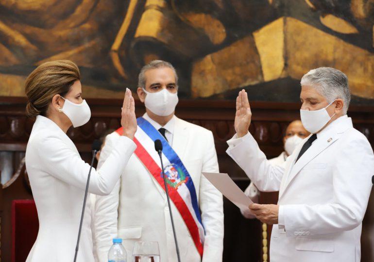 Raquel Peña define su primer año en el gobierno como un tiempo de retos y conquistas