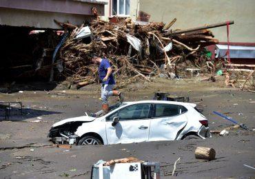 Registran unos 40 muertos en Turquía por inundaciones