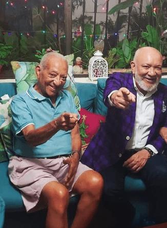 Velan los restos de Luis Santos, padre del comunicador Jochy Santos