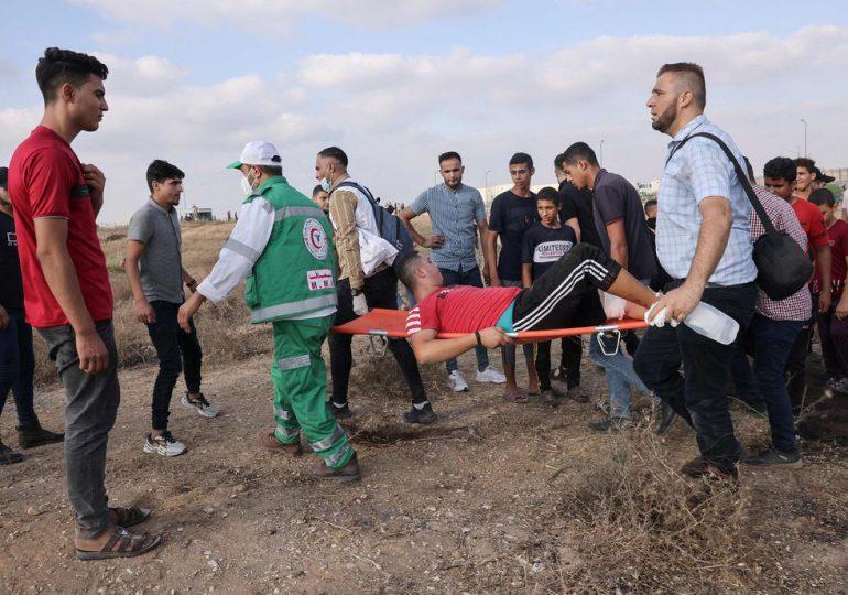 Más de 40 heridos en incidentes en frontera entre Gaza e Israel