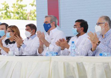 Presidente Abinader inaugura el Proyecto de Desarrollo Agrícola Azua II