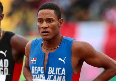 Yancarlos Martínez no logró avanzar a la final de los 200 metros