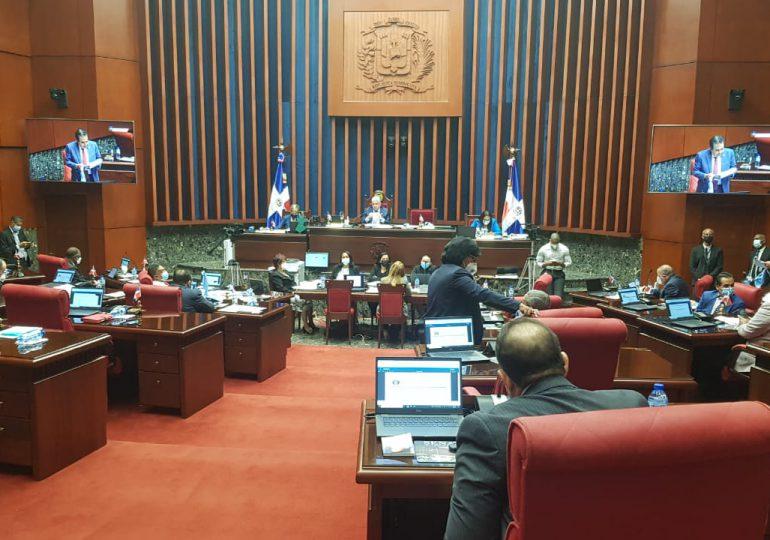 Senadores aprueban modificación al Presupuesto General del Estado