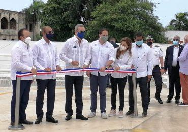 VIDEO | Presidente Abinader y director del INVI entregan parqueo La Atarazana en la Ciudad Colonial
