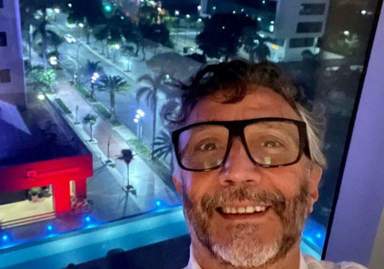 Fito Páez ya está en RD para su concierto en el Teatro Nacional