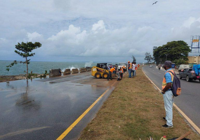 MOPC activa plan preventivo de emergencia ante la tormenta Fred