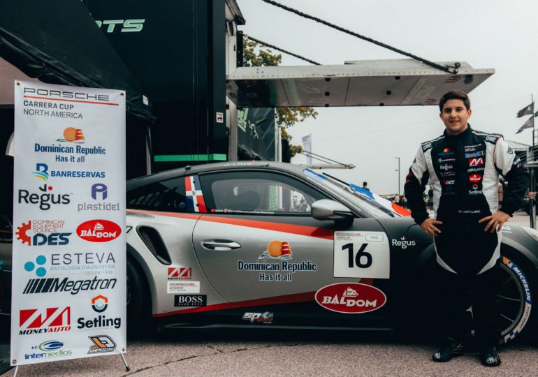 Jimmy Llibre en el Top 10 del campeonato Porsche carrera Cup USA al conquistar la 9na posición desde atrás