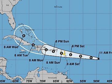 VIDEO   COE alerta el paso del potencial ciclón tropical Grace