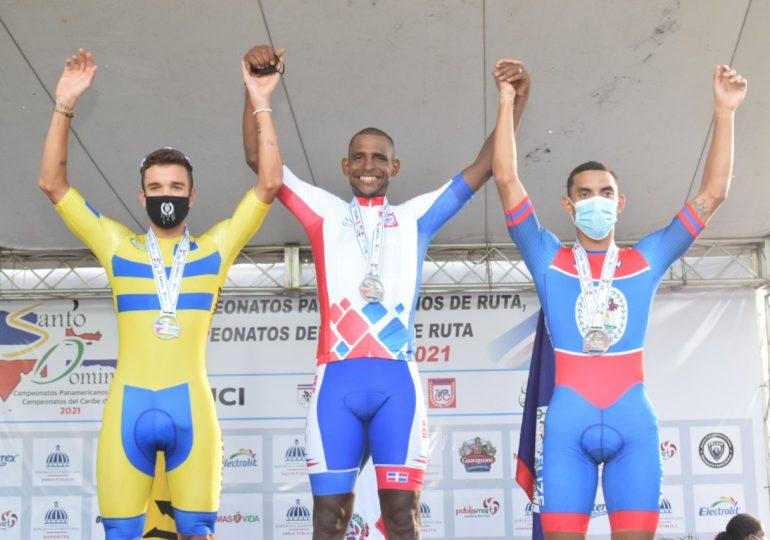 Augusto Sánchez gana la contrarreloj en Campeonato del Caribe de Ciclismo