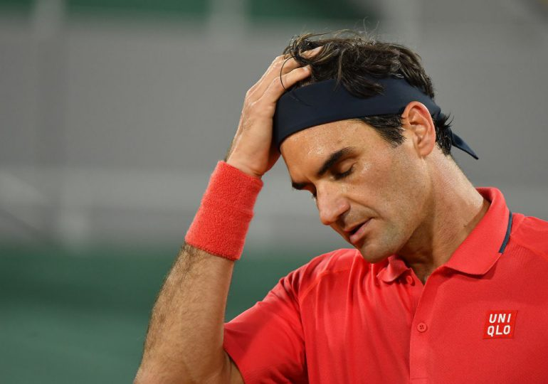 Roger Federer será operado de la rodilla