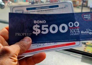 Neney Cabrera confirma bonos de 500 pesos a vacunados es un aporte de empresarios mocanos vía Propeep