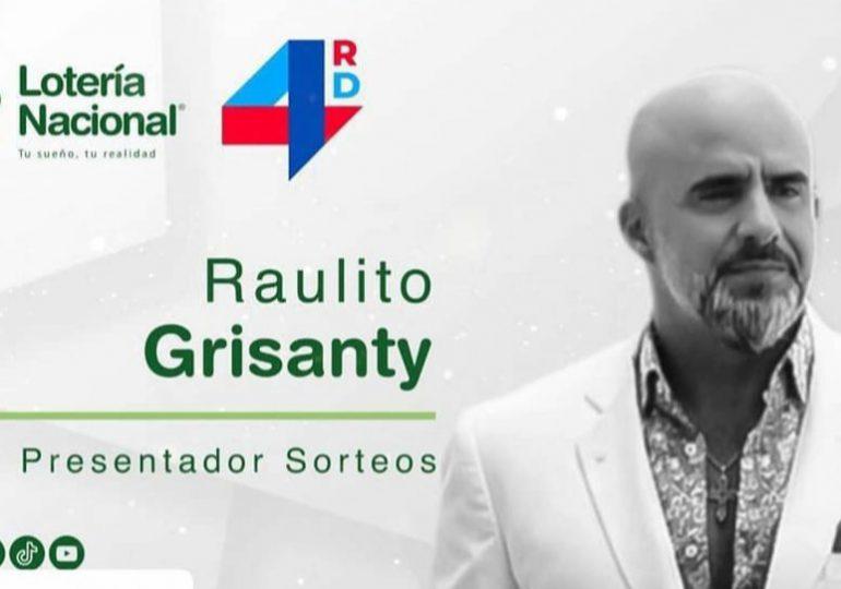 Raulito Grisanty revela salió de Lotería Nacional por falta de pago
