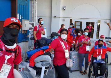 Delegación dominicana de para-atletas llega a la Villa Paralímpica