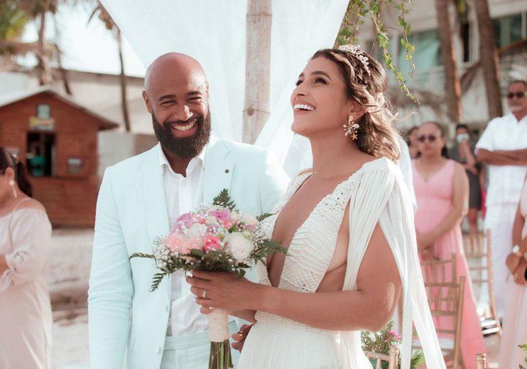 Pelotero Carlos Paulino se casa en San Andrés Island