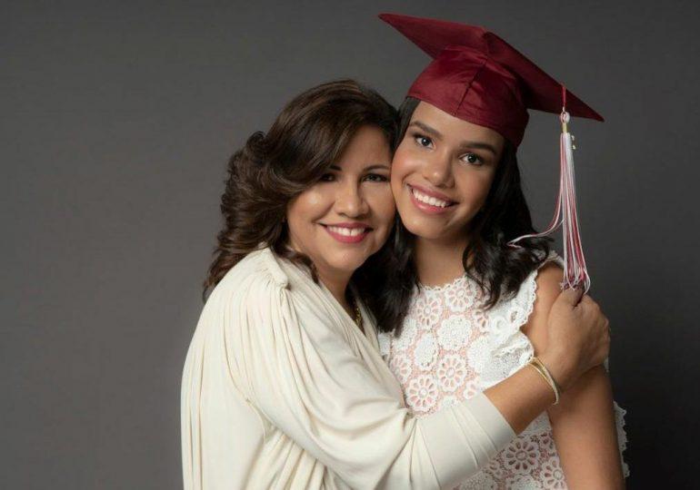 Hija de Leonel y Margarita ya es mayor de edad