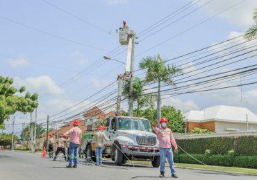 Edesur ejecuta proyecto de rehabilitación de redes en Peravia en beneficio de más de 16,119 familias