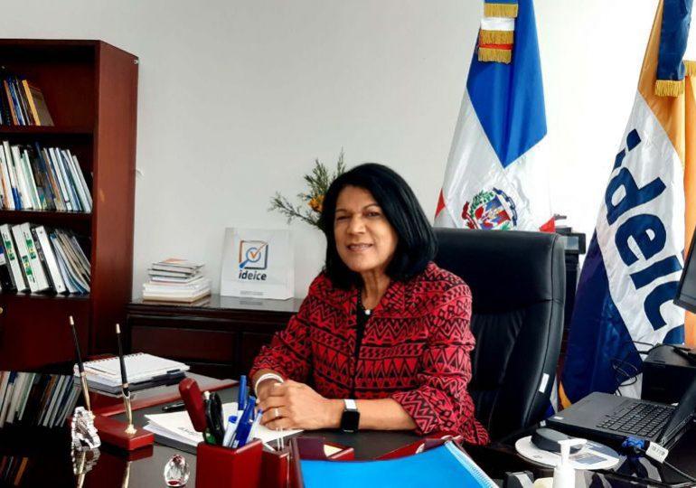 Carmen Caraballo es designada por el Ministerio de Educación como nueva directora ejecutiva del IDEICE