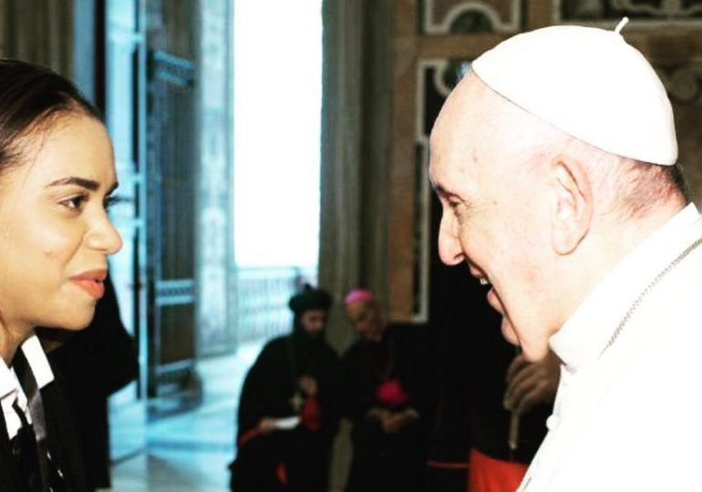 Lo que le dijo el papa Francisco a la diputada Betty Gerónimo