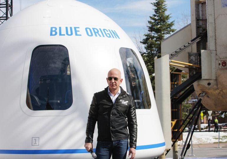 Blue Origin demandó a la NASA por un contrato de exploración lunar que ganó SpaceX
