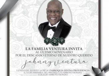 Familia de Johnny Ventura invita a la última misa del novenario del artista