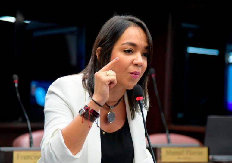 Faride Raful solicita  modificación del Código Penal sea reintroducido al Senado luego del 16 de agosto